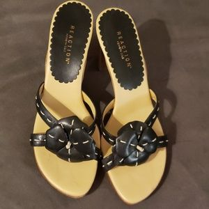 Kenneth Cole reaction high heeled sandals size 7 1
